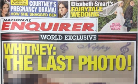 Whitney Houston Family: Devastated Over National Enquirer Photo