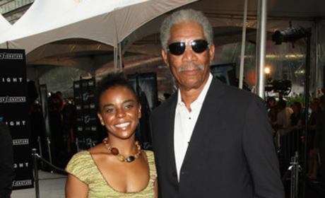 Morgan Freeman and E'Dena Hines: It's Over?