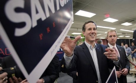 Republican Presidential Race: Rick Santorum Cruises to Kansas Caucus Win