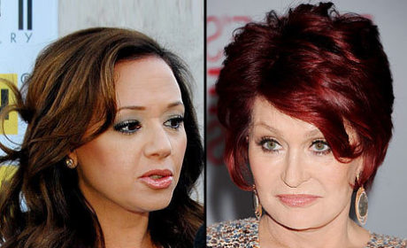 Leah Remini: Sharon Osbourne Got Me Fired!