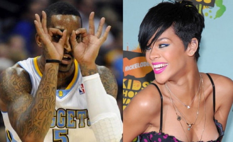 Rihanna and J.R. Smith: Dating?!