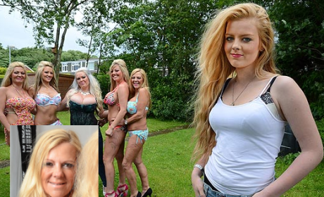 Britney Marshall, 14, Pressured By Mom to Get Breast Implants
