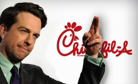 Chick-fil-A Responds to Ed Helms Tweet, Gay Marriage Controversy