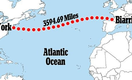 Man Tries to Swim Atlantic to Spread Olympic Spirit, Rescued at Sea Shortly After Departure