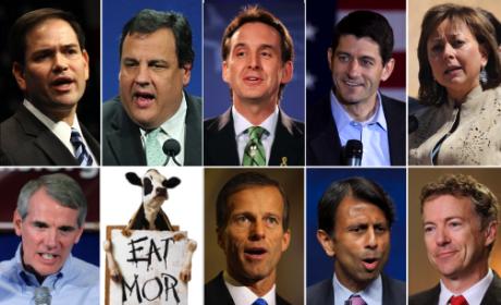 Who should Mitt Romney pick as V.P.?