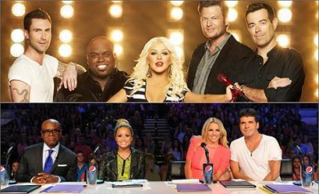 Which show is better, The Voice or The X Factor?