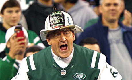 Fireman Ed, Passionate Jets Fan, Hangs Up Helmet