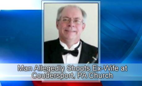 Ex Shot Playing Church Organ in Pennsylvania
