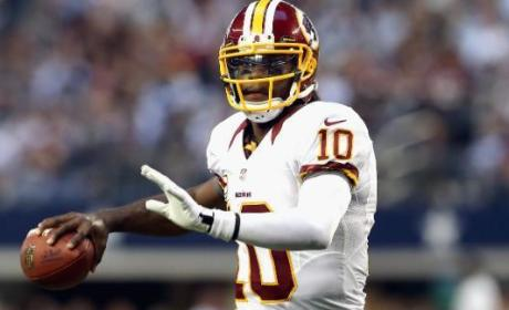 Robert Griffin III Fined $10,000 For Wearing Adidas