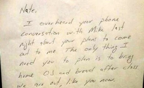 Dad's Letter to Gay Son Goes Viral, Warms Hearts