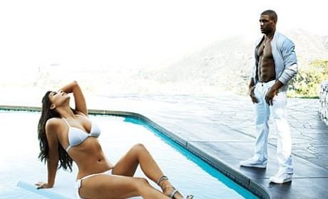 Kim Kardashian Bikini Shot