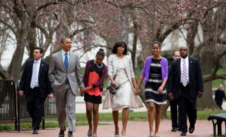 Michelle Obama Easter Outfit: Spring Has Sprung (Finally)
