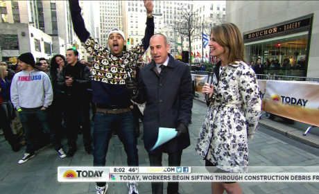 Matt Lauer: Too Soft on Chris Brown?