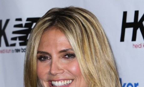 Heidi Klum Saves Drowning Son, Nannies
