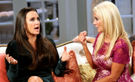 Kim Richards: Off the Wagon Again?