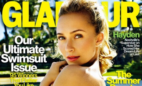 Hayden Panettiere Glamour Cover