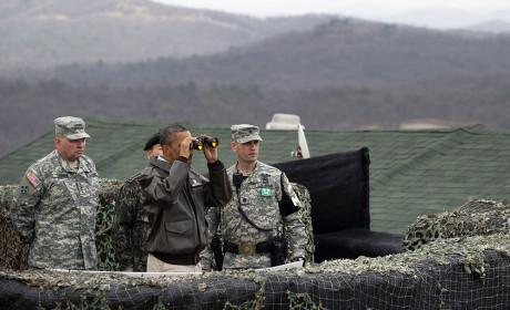 Obama at DMZ