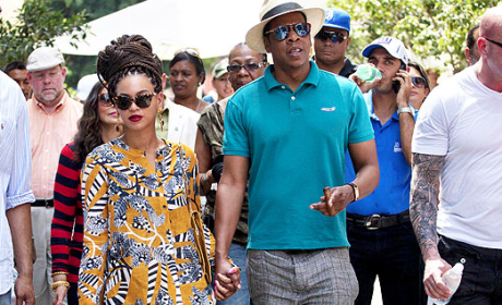 Beyonce, Jay-Z Mark Fifth Anniversary in Cuba