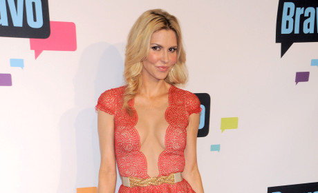 Brandi Glanville Dress at Bravo Upfronts