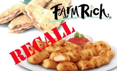 Frozen Pizza Recall: 10.5 Million POUNDS Yanked By Farm Rich Products