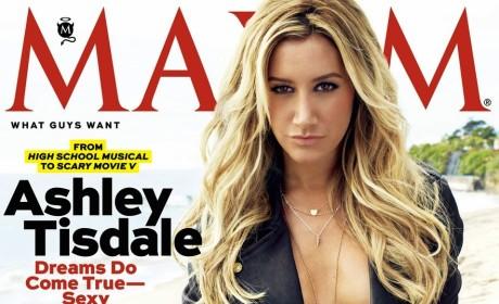 Ashley Tisdale Maxim Cover