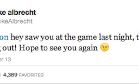 Spike Albrecht to Kate Upton: Call Me!