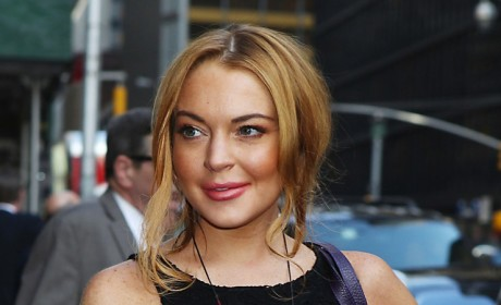 Lindsay Lohan at Coachella: No Drugs or Booze For Me (Try to Withhold Laughter)!