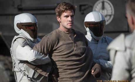 Catching Fire Still: Liam Hemsworth as Gale!