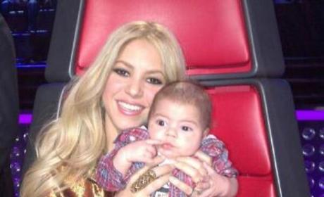 Shakira Baby Picture