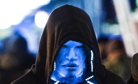Jamie Foxx is Electro in New Amazing Spider-Man 2 Set Photos