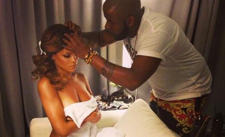 Rihanna: Topless on Instagram, Yet Again