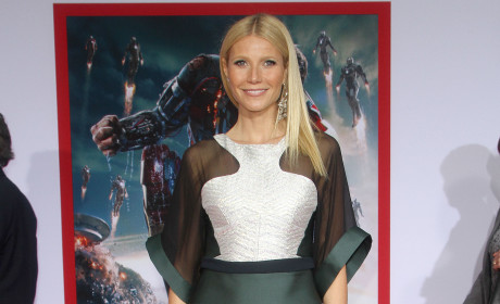 Stylist Defends Ridiculous Gwyneth Paltrow Dress: It's Elegant!