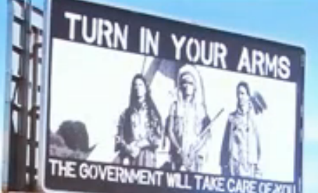 Pro-Gun Native American Billboard Sparks Outcry, Controversy in Colorado