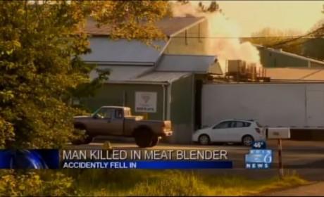 Worker Dies in Blender at Meat Plant, Investigation Underway