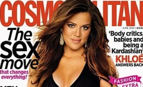 Khloe Kardashian Kovers Cosmo; Talks Body Issues, Kanye, Kim and More!