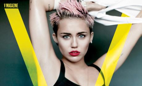 Miley Cyrus V Photo