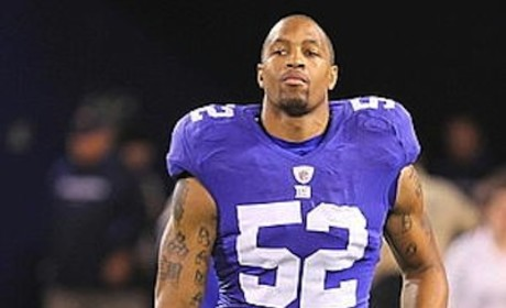 Michael Boley Arrested For Child Abuse, Agrees to Plea Deal