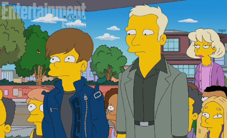 Justin Bieber on The Simpsons: First Look!