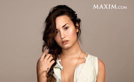 Demi Lovato Maxim Photo