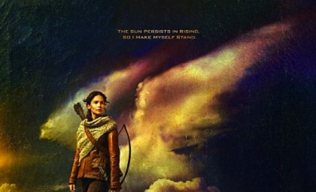 Catching Fire Poster: Making Herself Stand