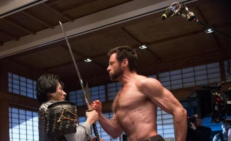 The Wolverine: Hugh Jackman Fights Hiro Sanada