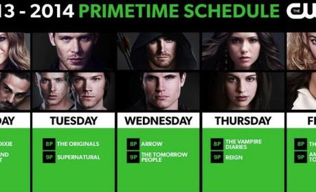 The CW Comes Out with 2013-2014 Schedule