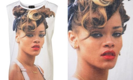 Rihanna Topshop Shirt