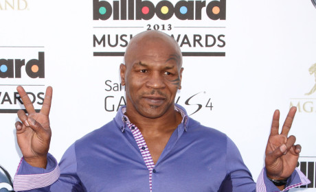 Mike Tyson at Billboard Music Awards