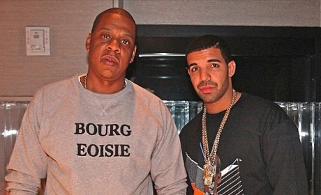 Drake and Jay-Z Photo: In the Studio Together!