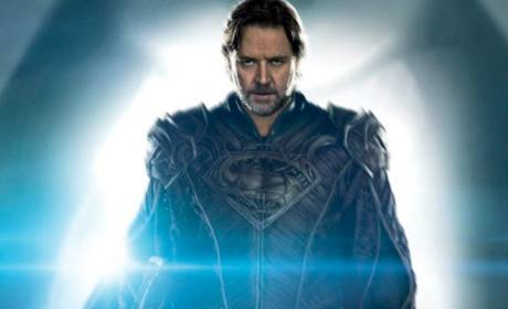 Man of Steel Russell Crowe Poster