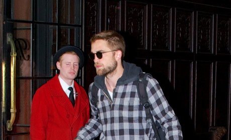 Robert Pattinson in Manhattan