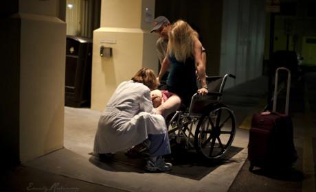 Woman Gives Birth on Sidewalk: Caught on Camera!