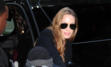 Angelina Jolie in New York