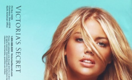 Kate Upton Furious at Victoria's Secret for Reusing Old Lingerie Photo